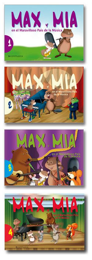 Max y Mia - conmusica