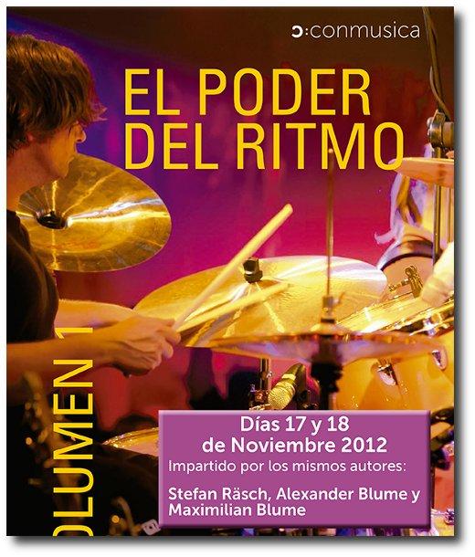 El poder del ritmo - Seminarios en Madrid