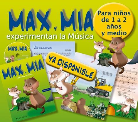 Max y Mia Experimentan la música